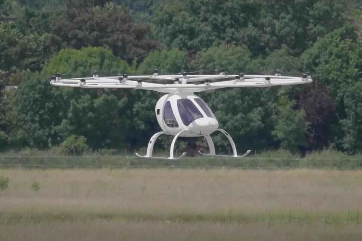 Rome Airport plans to launch electric helicopter to city center, wants to introduce it in 2024